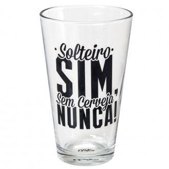 Copo Drink em Vidro Solteiro Sim 300ml