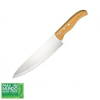 """Faca para Carne em Inox e Bambu Special Line 8"""""""