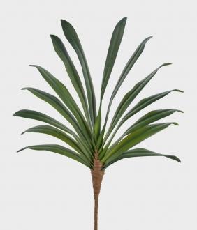 Folha de Orquídea Artificial Verde 50cm