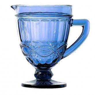 Jarra em Vidro Elegance Azul 1 Litro