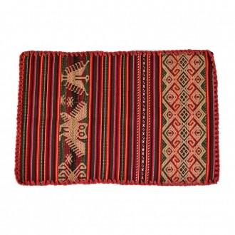 Jogo Americano Cusco Animais Bico Vermelho