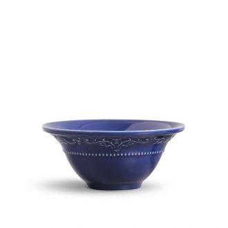Jogo de 6 Bowls 445ml - Acanthus Azul Navy