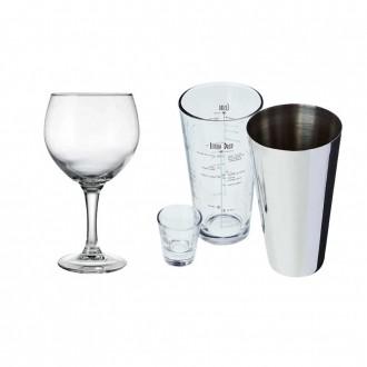 Kit Drink Coqueteleira e Taça Gin