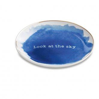 Mini Prato Redondo Decorativo - Look at the Sky