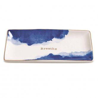 Mini Prato Retangular Decorativo - Breathe