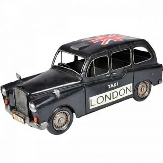 Miniatura Decorativa Retrô em Metal Taxi London