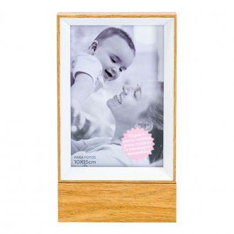 Porta Retrato de Madeira com Led  Lar é Onde o Amor Está