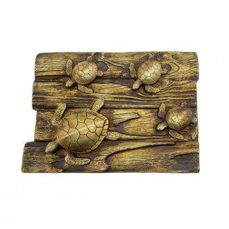 Quadro Decorativo em Poliuretano de Tartaruga