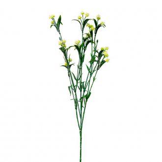 Ramo de Flor Artificial Broto Amarelo