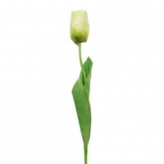Tulipa Artificial Aquaflore Verde 69cm
