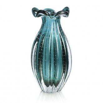 Vaso de Murano Trouxinha Esmeralda 27cm