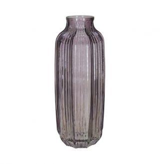 Vaso Decorativo em Vidro Rosa 31cm 12D Vol.12