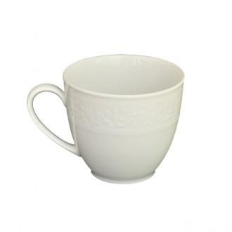 Xícara de Porcelana Avulsa Branco 200ml