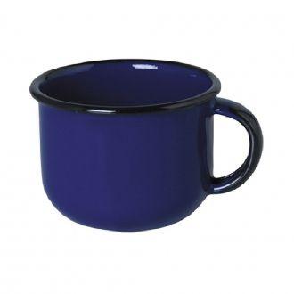 Xícara Esmaltada de Café 90ml - Azul