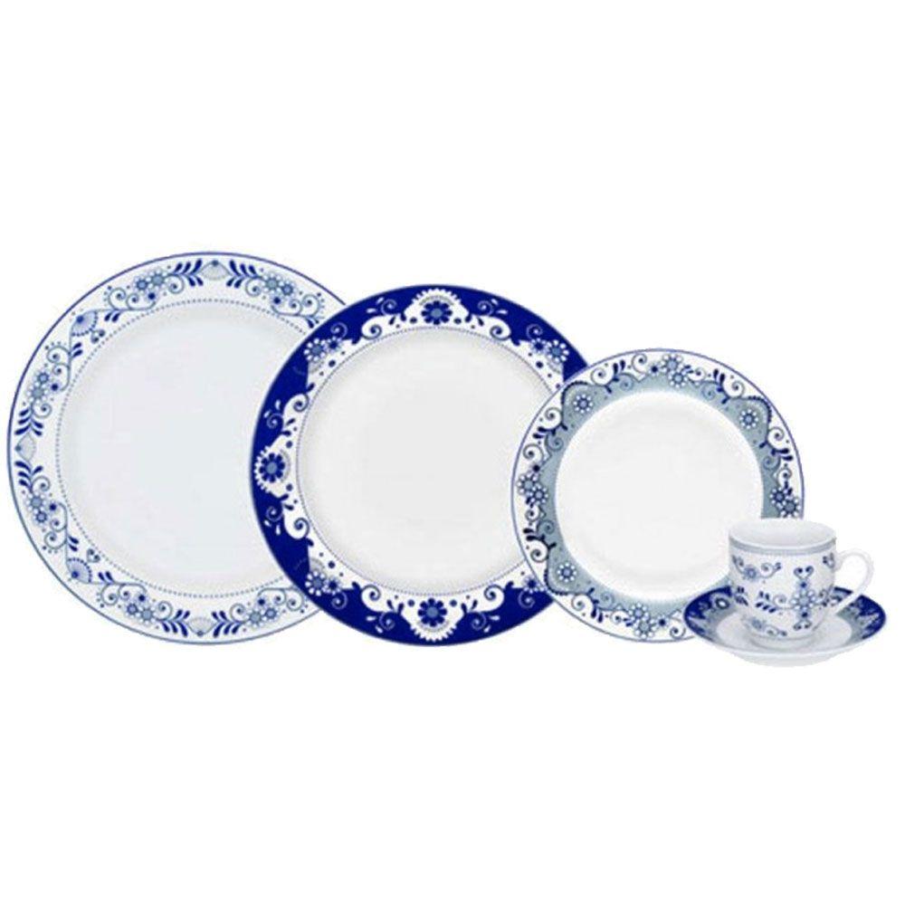 Aparelho de Jantar em Porcelana Round Lisboa 30 Peças