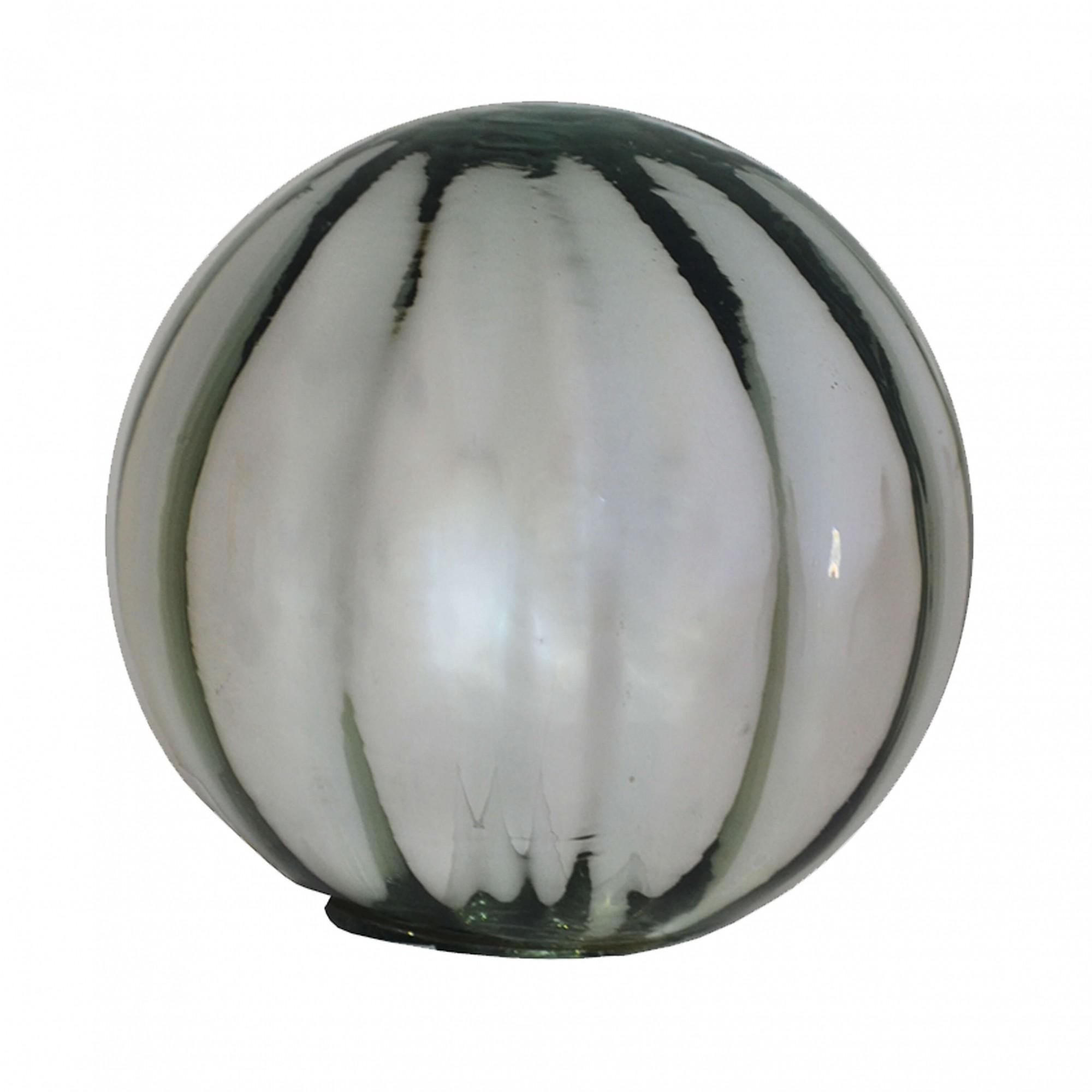 Bola Decorativa em Vidro Espelhado Prata