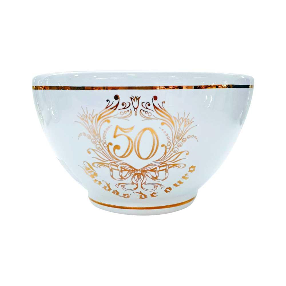 Bowl de Cerâmica Bodas de Ouro