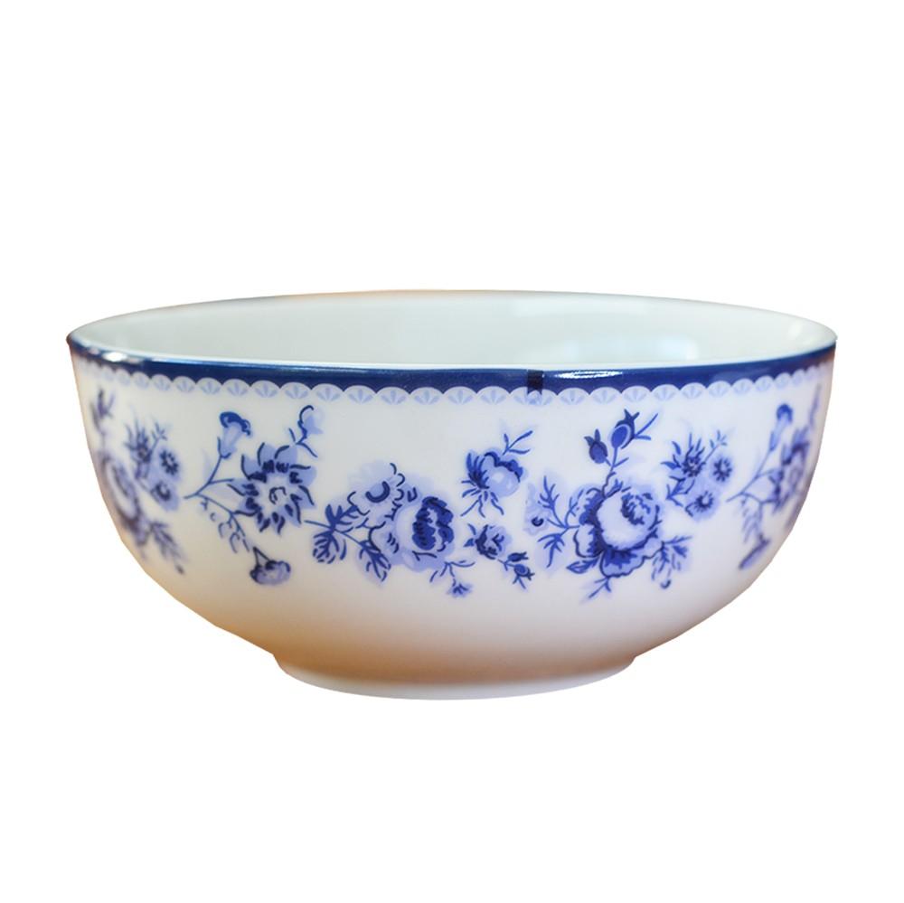 Bowl em Porcelana Viena Azul Floral