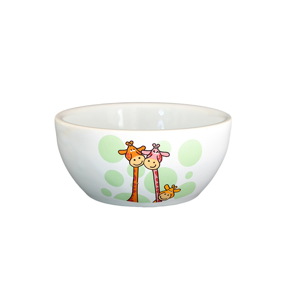 Bowl Pequeno de Cerâmica Girafa