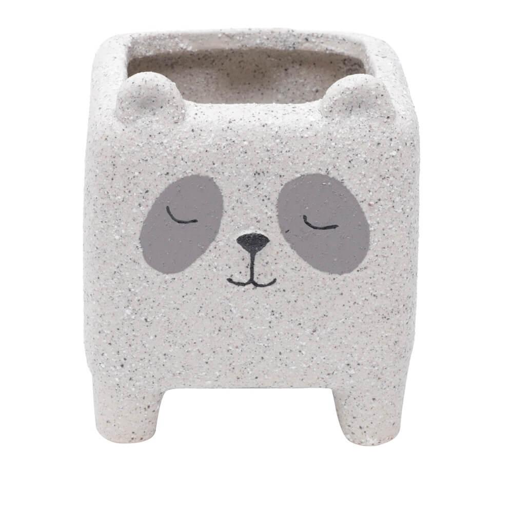 Cachepot Cerâmica Sleeping Panda