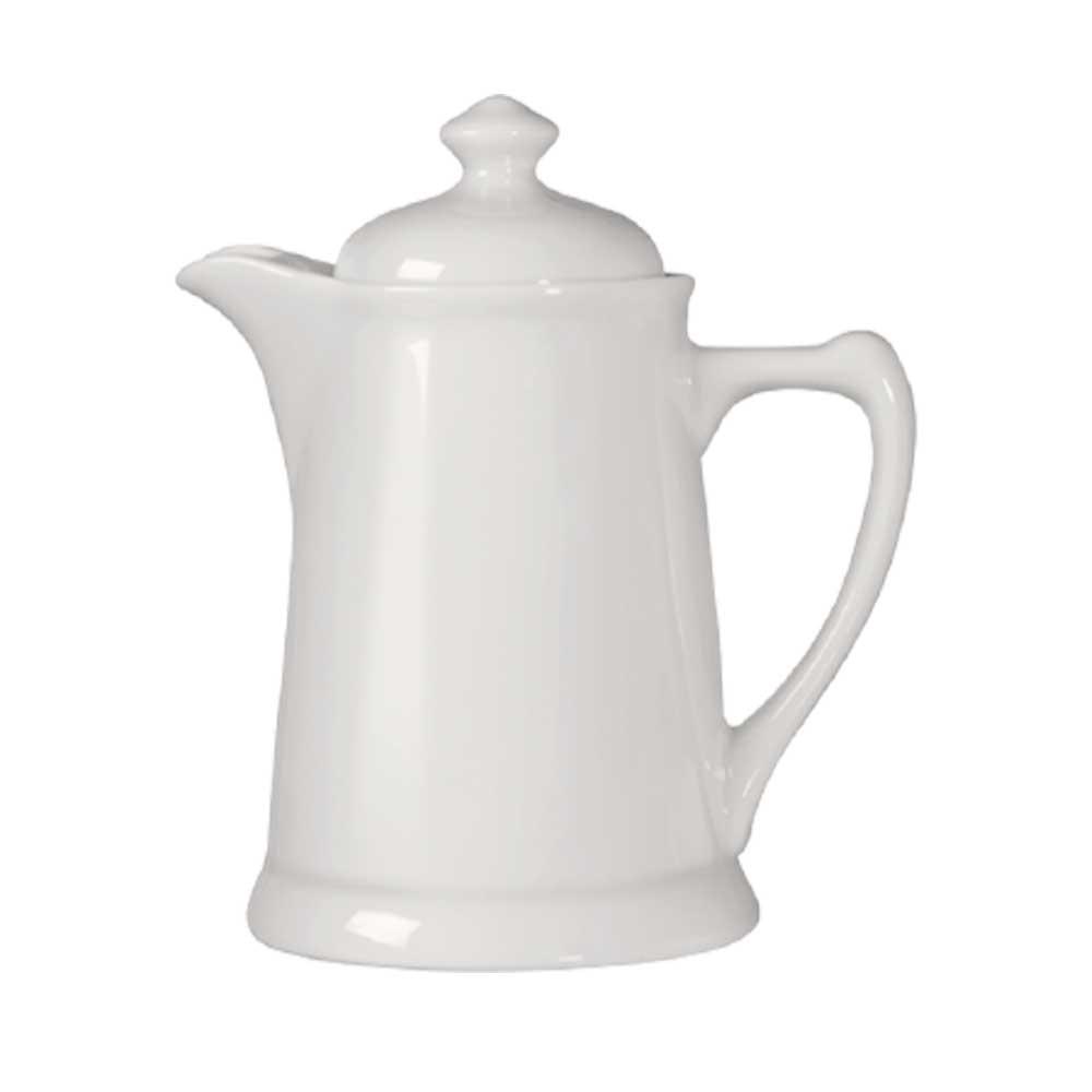 Cafeteira de Porcelana Branca 500ml Germer Porcelanas