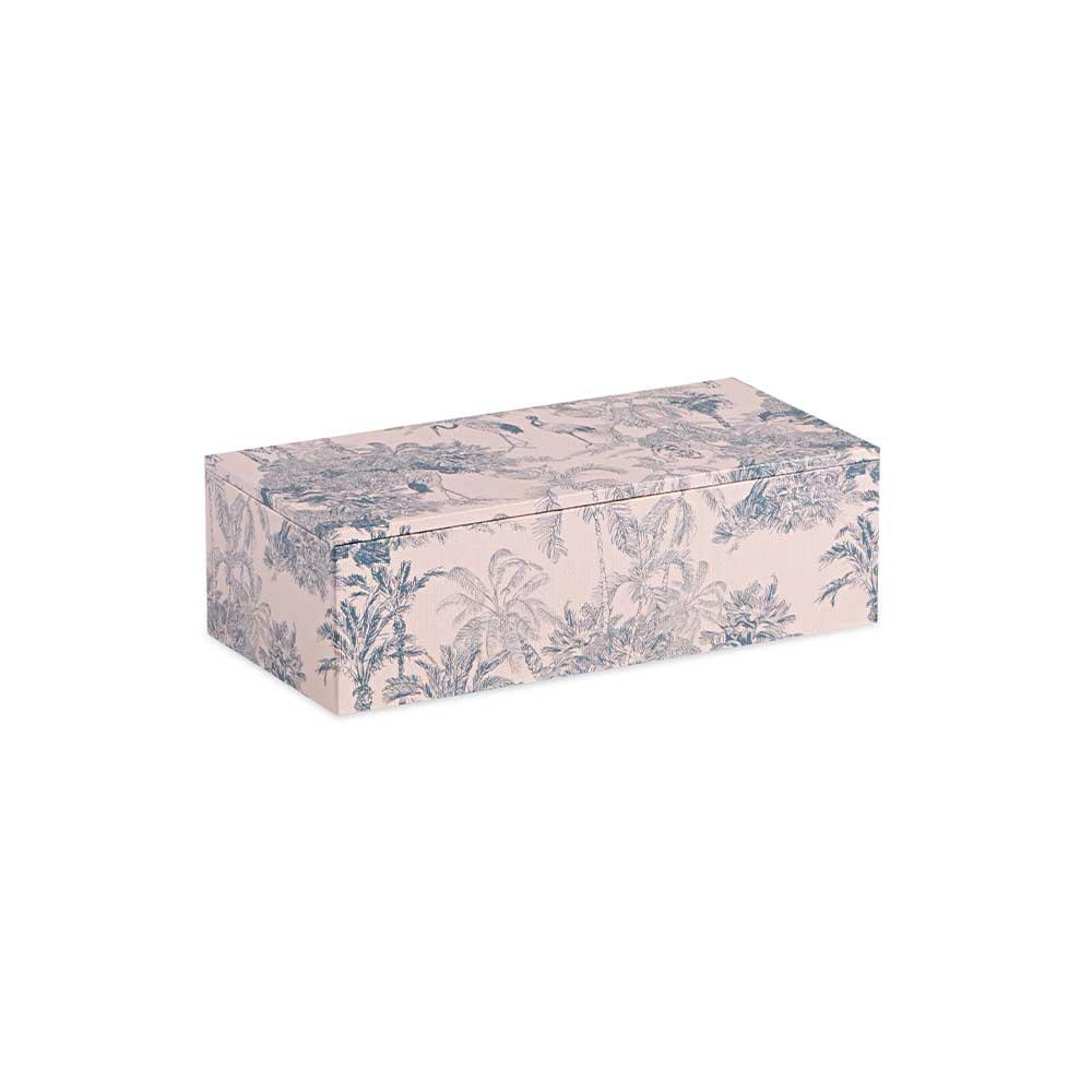 Caixa Decorativa Floresta Azul Pequena