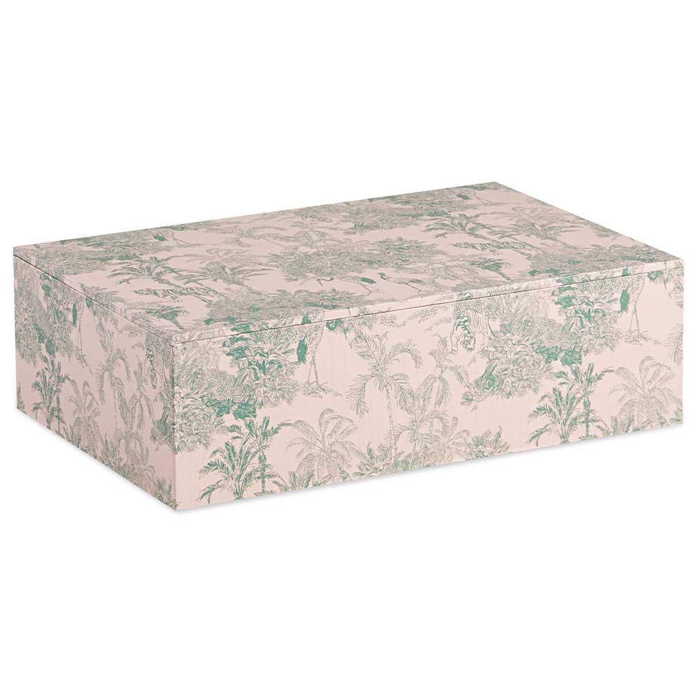 Caixa Decorativa Floresta Verde Grande