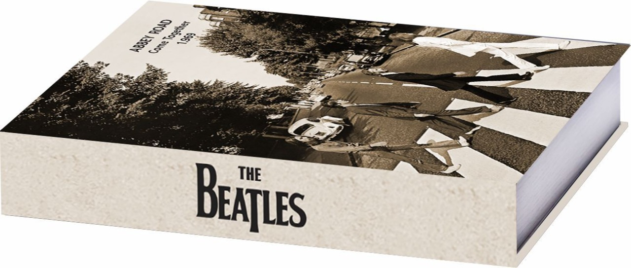 Caixa Livro Beatles 25X18X4cm