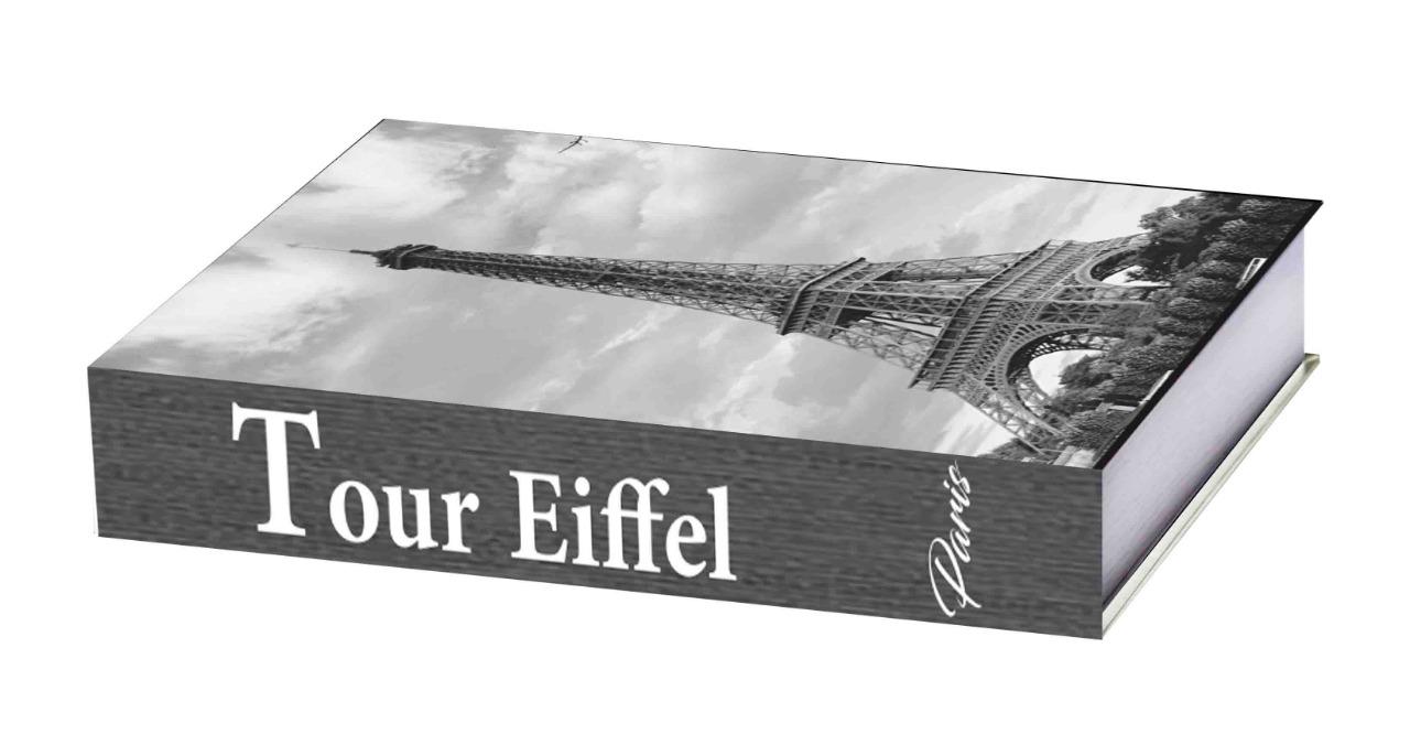 Caixa Livro Const Paris 25X18X4cm