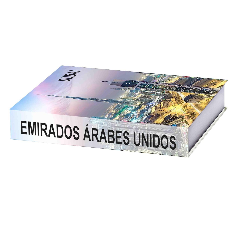 Caixa Livro Decorativa Emirados Árabes Unidos