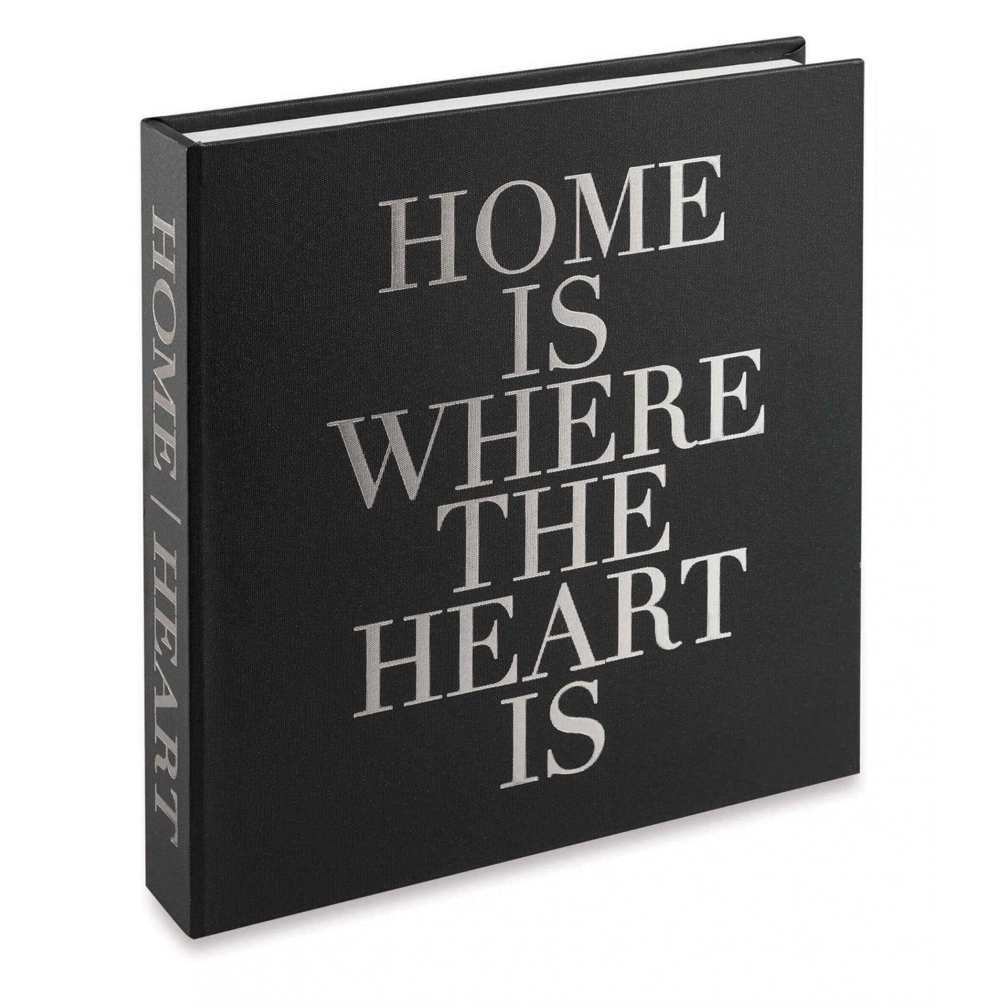 Caixa Livro Decorativa Home is Were