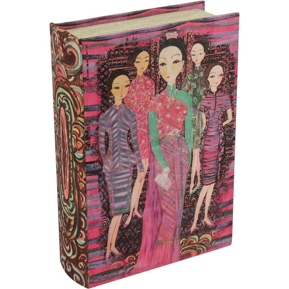 Caixa Livro Decorativa Keipo