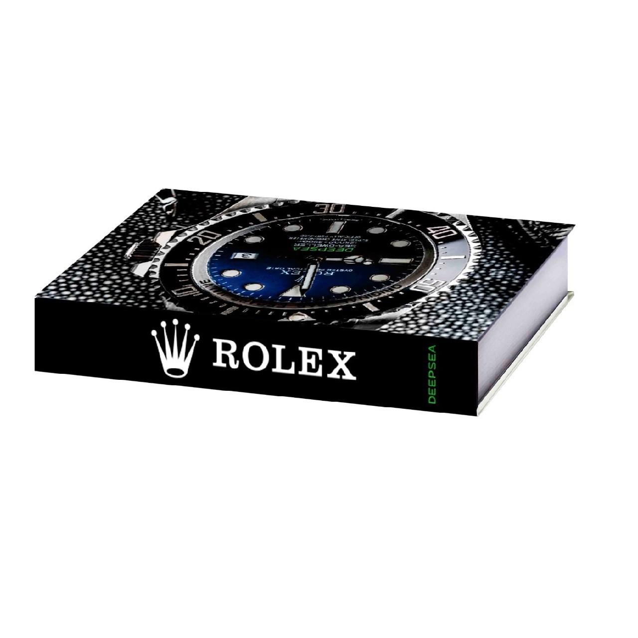 Caixa Livro Decorativa Rolex Médio