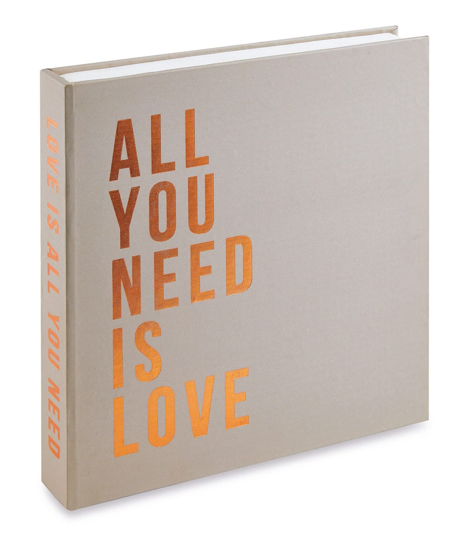 Caixa Livro Decorativo All You Need Is Love