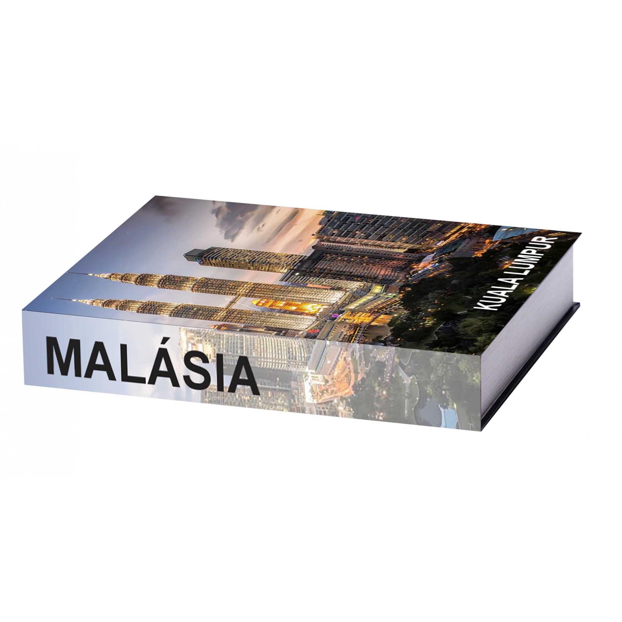 Caixa Livro Malásia 25X18X4,5cm
