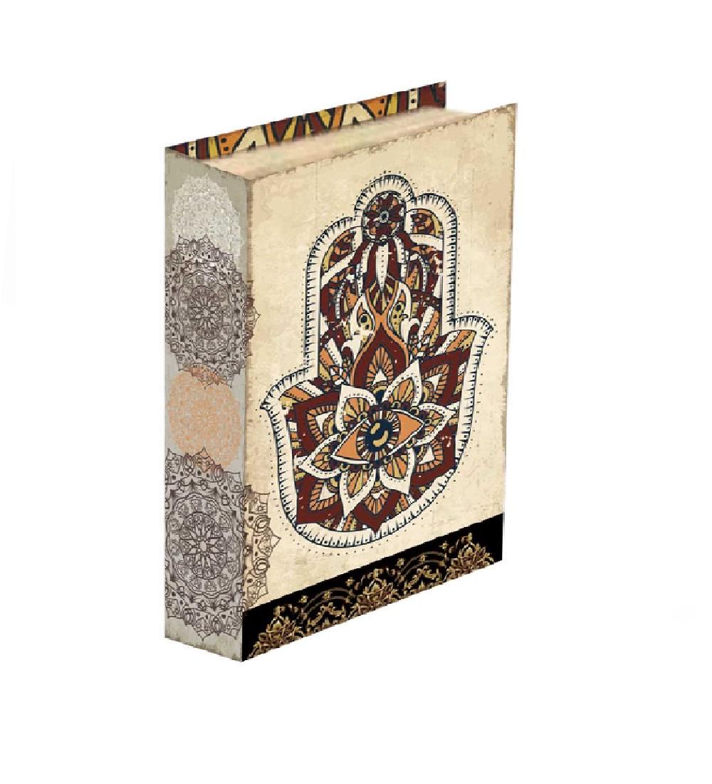 Caixa Livro Mão de Maria 30x24x5cm