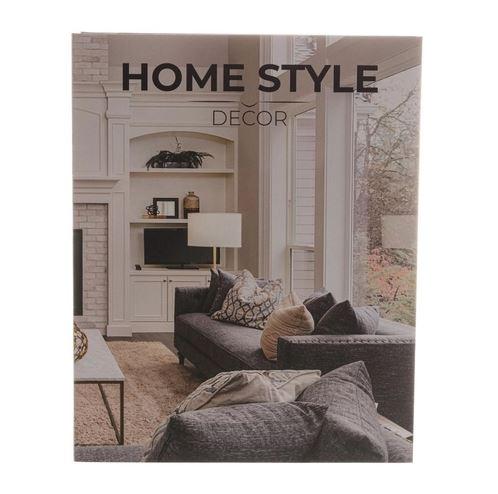 Caixa Livro Papel Rígido Home Style 30x24x5cm