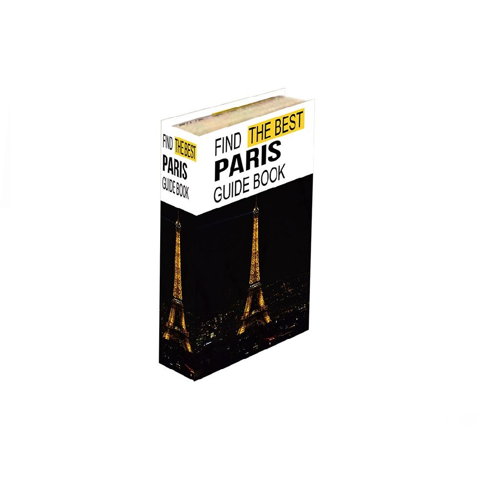 Caixa Livro Paris 26x17x3,5cm