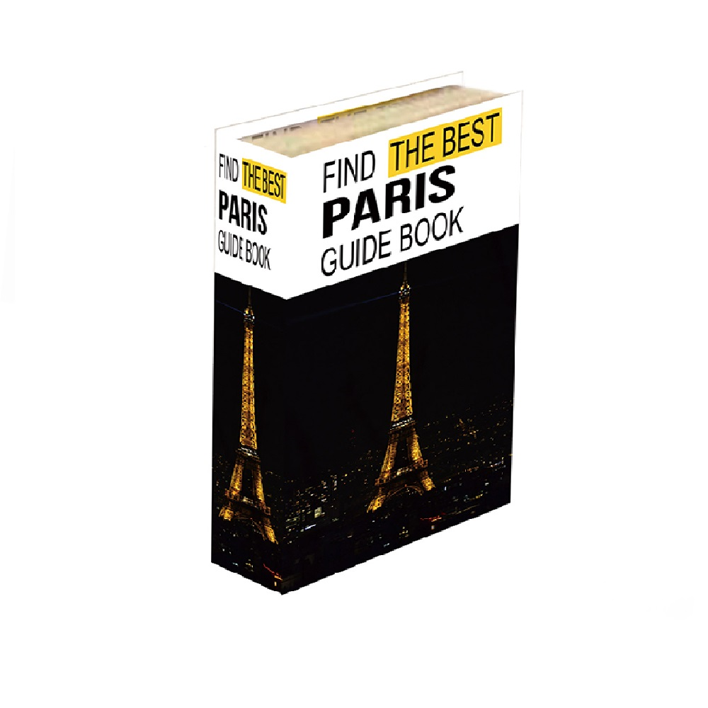 Caixa Livro Paris 30x24x5cm