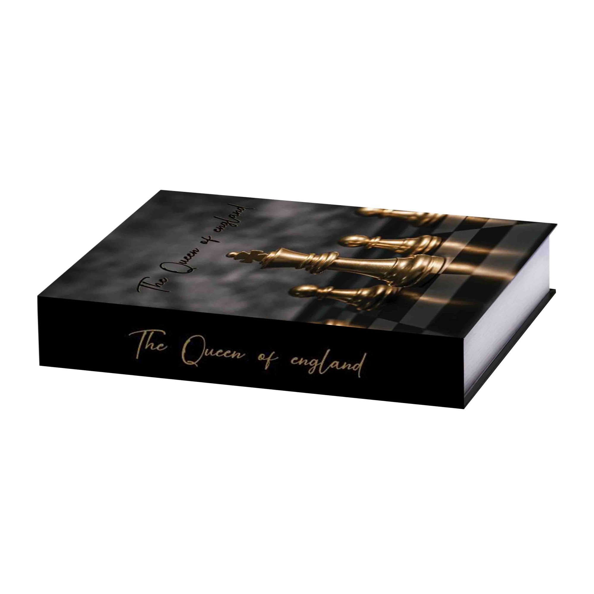 Caixa Livro Xadrez 32x25x5cm