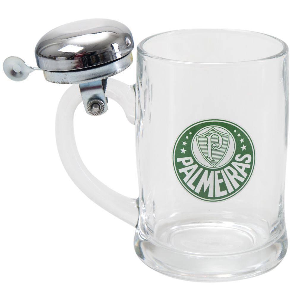 Caneca de Cerveja com Sineta Palmeiras 380ml