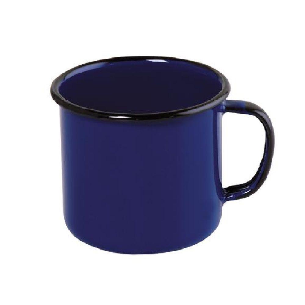 Caneca Esmaltada 130ml - Azul