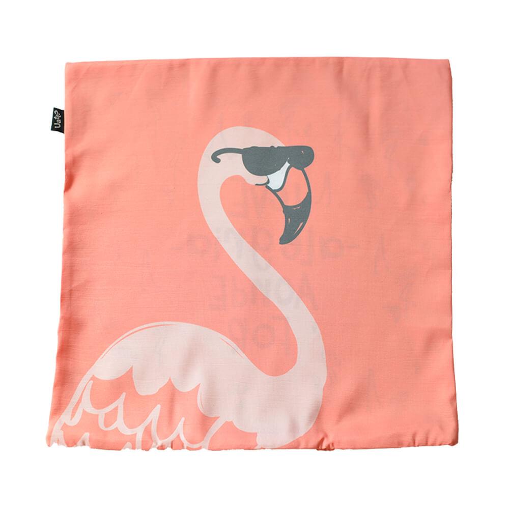 Capa de Almofada Flamingo 40cm