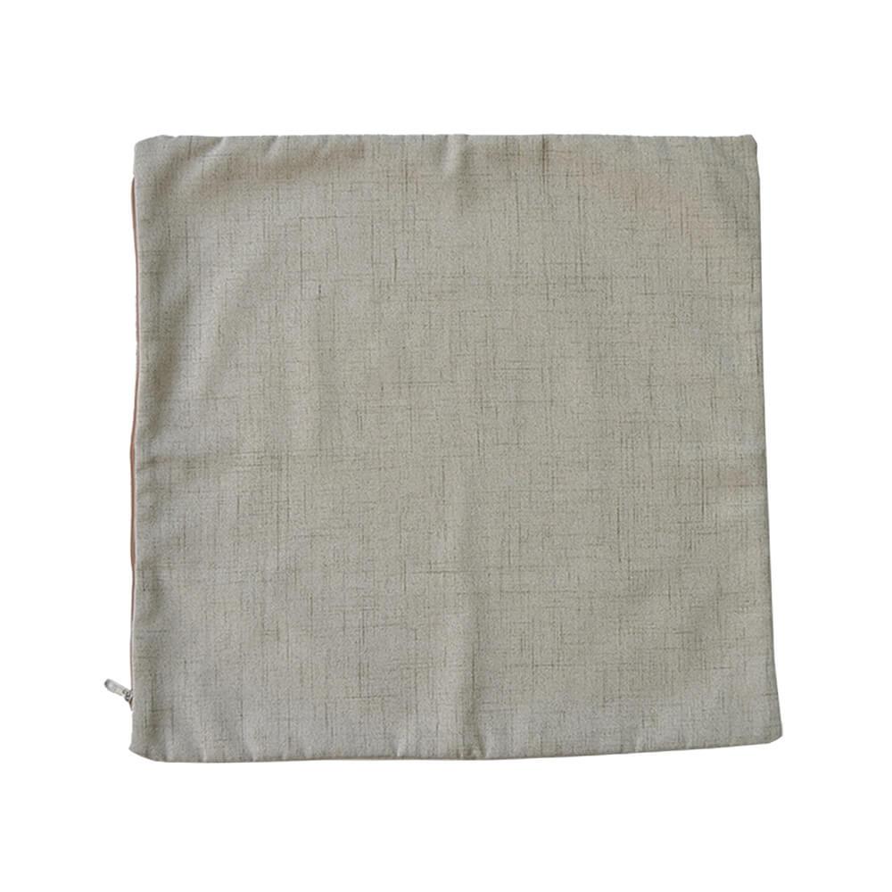 Capa para Almofada Bege com Riscos 43x43