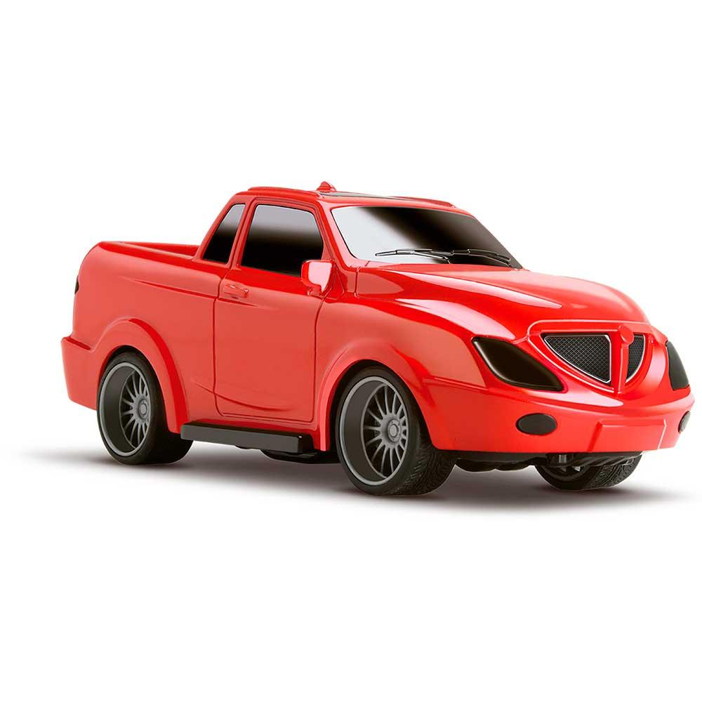 Carrinho de Brinquedo Vegas Sport Car Fricção Vermelho