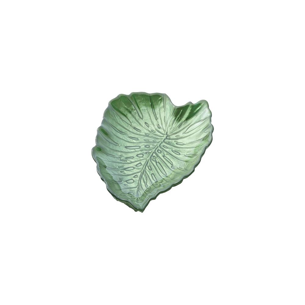 Centro de Mesa Costela de Adao 21x18,5cm Verde