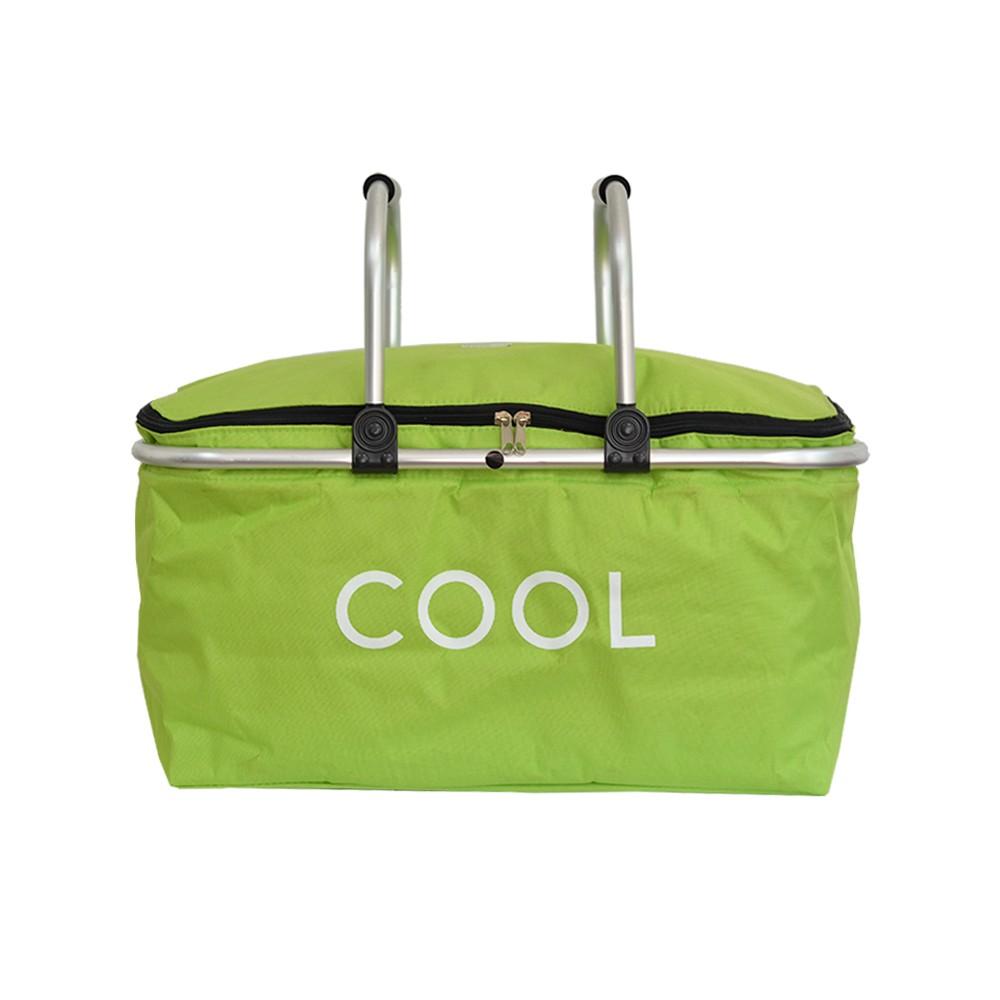 Cesta Térmica Cooler Retangular Verde
