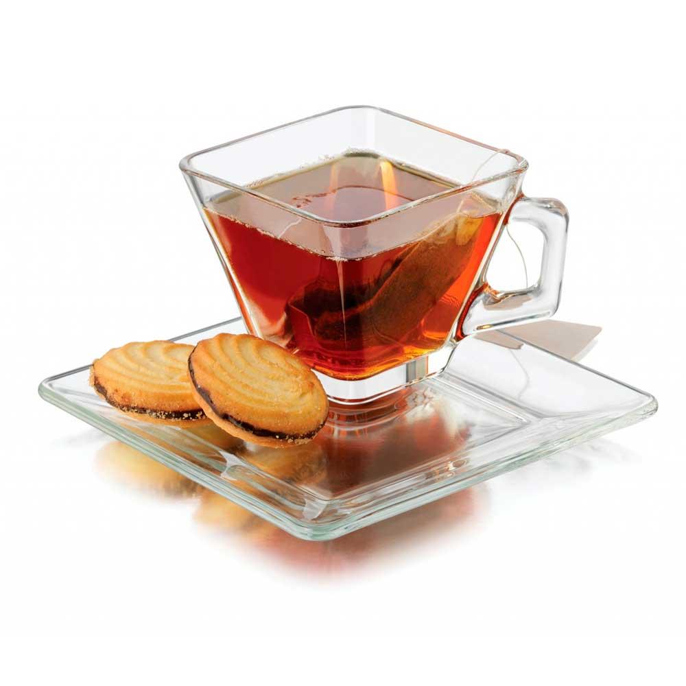 Conjunto Café/Lanche 8 Peças Libbey