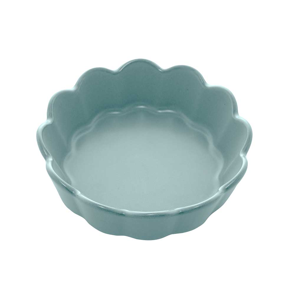 Conjunto de 3 Bowls Cerâmica Nórdica Menta Matt 15x5cm