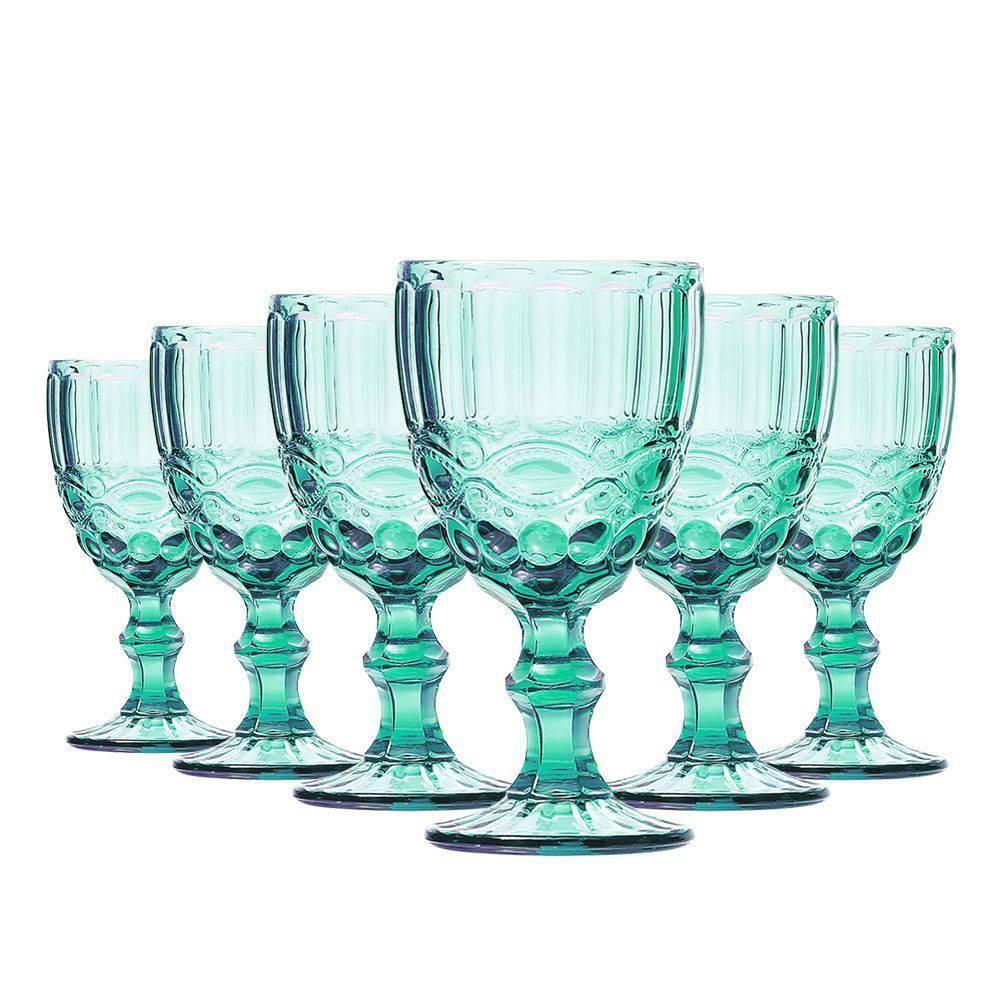 Conjunto de 6 Taças de Vinho Elegance - Tifanny 210ml
